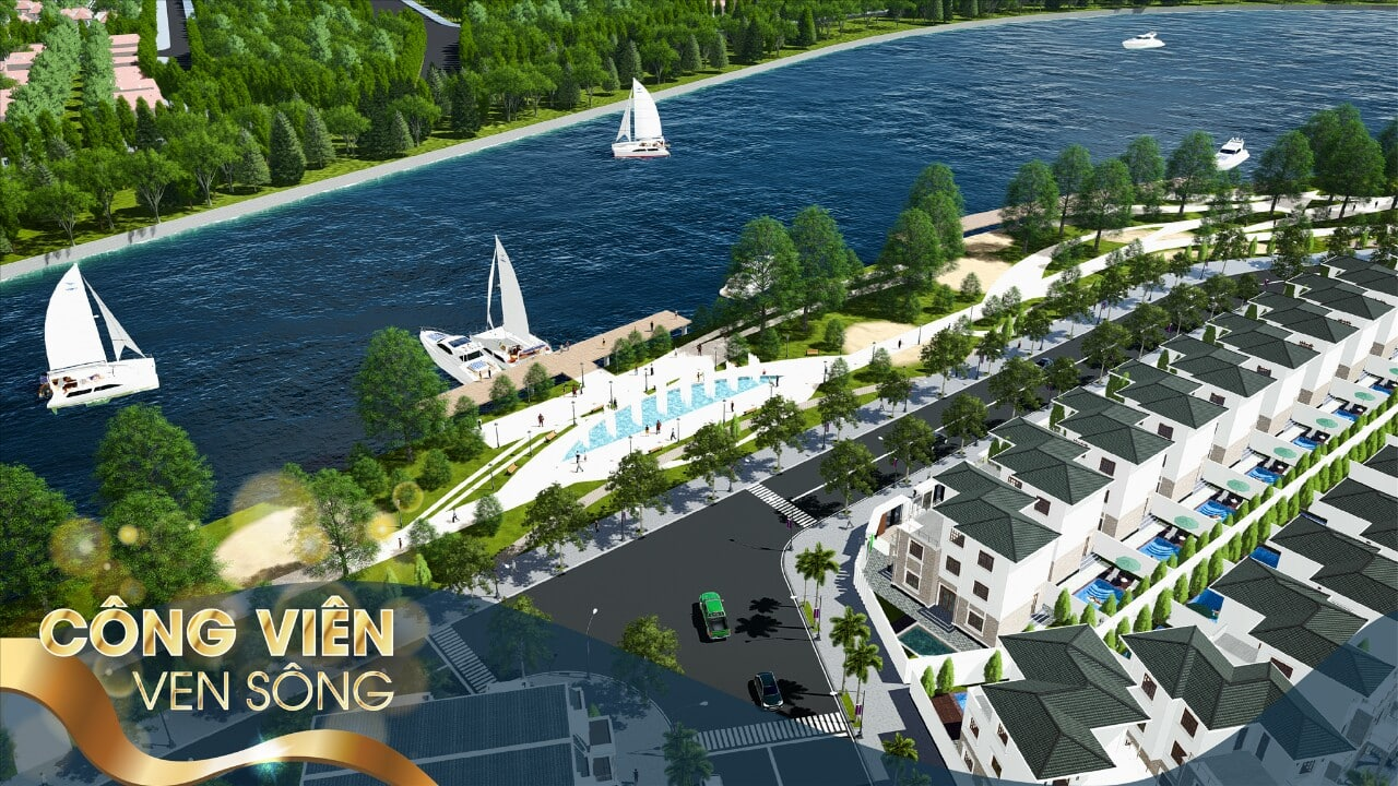 bến du thuyền Đất Nền Sân Golf Long Thành (tt)