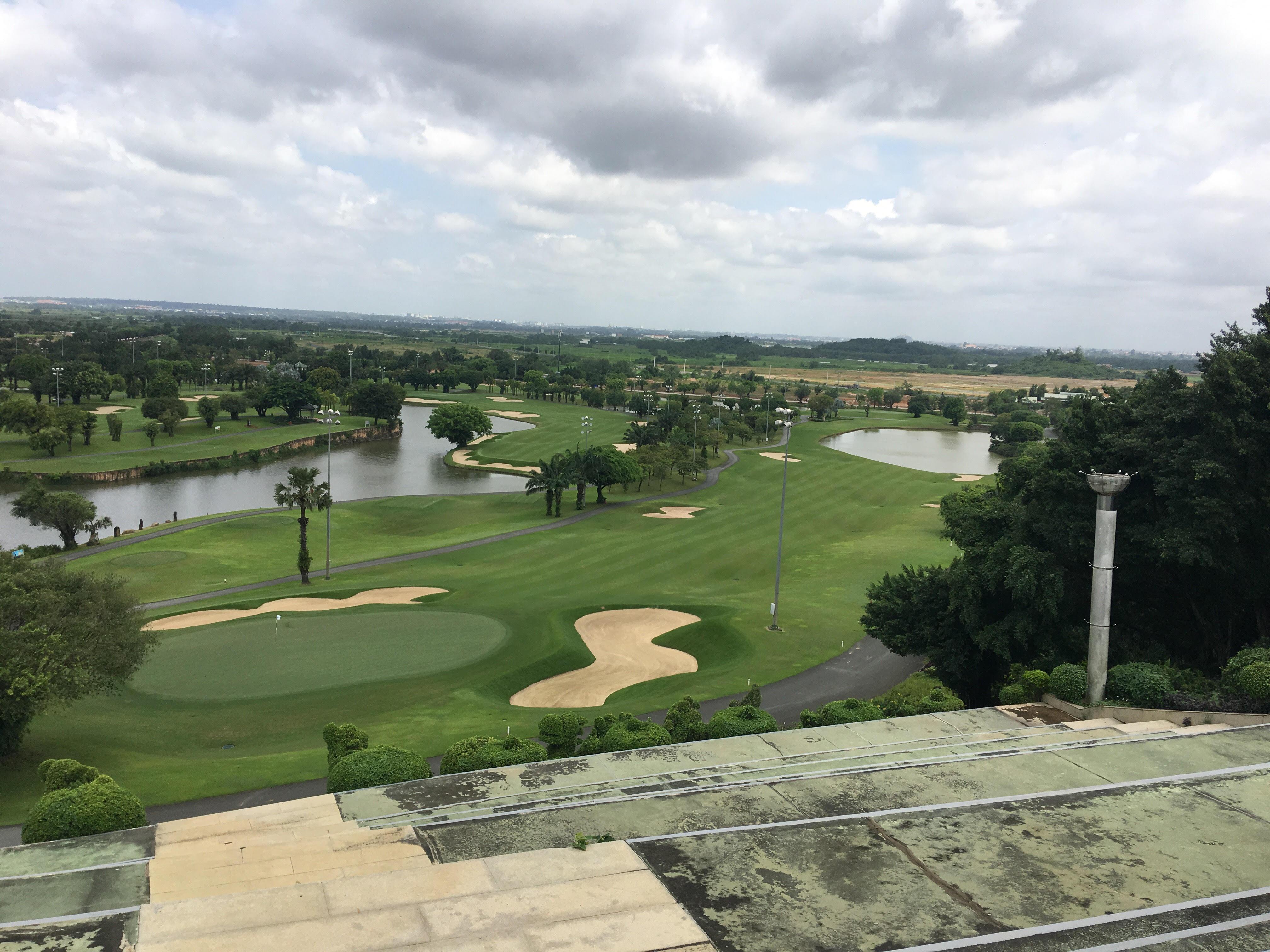 HÌnh Ảnh nhìn từ trung tâm sân Golf Long Thành