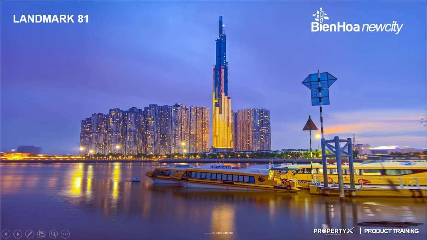 Lanmark Nhìn Từ Biên Hòa New City