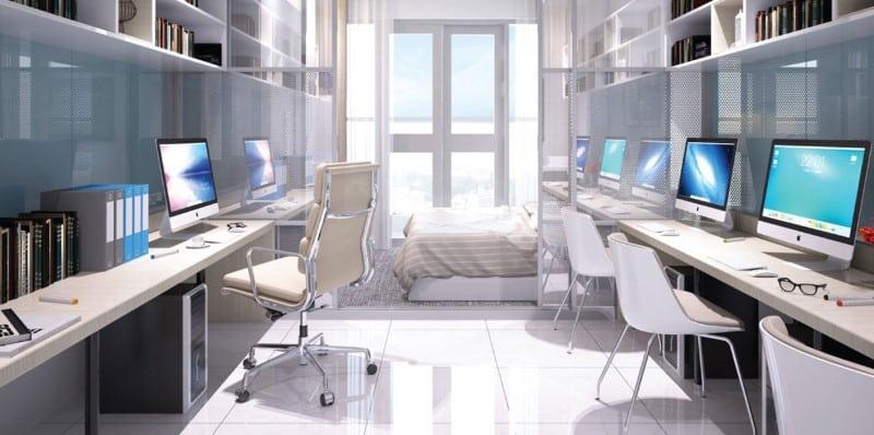 Tiện ích căn hộ văn phòng Officetel