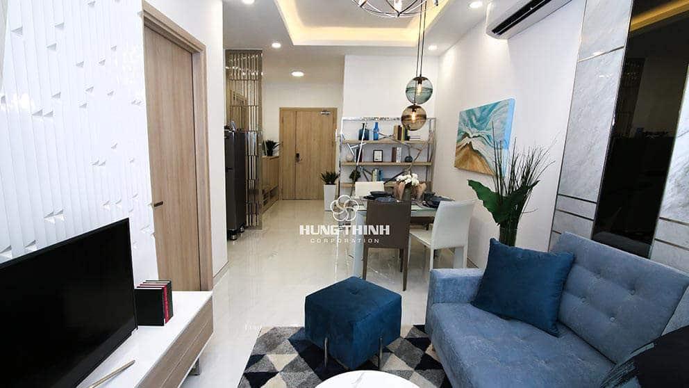 Phòng khách căn hộ Q7 saigon reverside complex