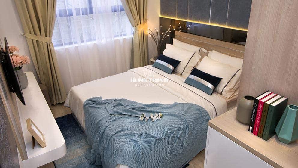 Phòng ngủ căn hộ Q7 saigon reverside complex
