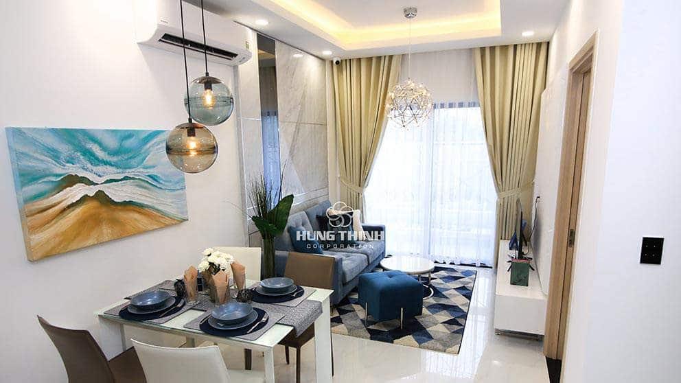Phòng khách căn hộ Q7 saigon reverside complex - hưng thịnh
