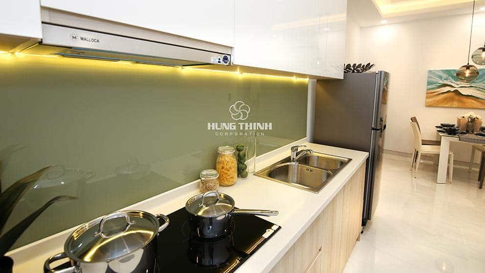 Không gian bếp dự án Q7 Reverside Hưng Thịnh