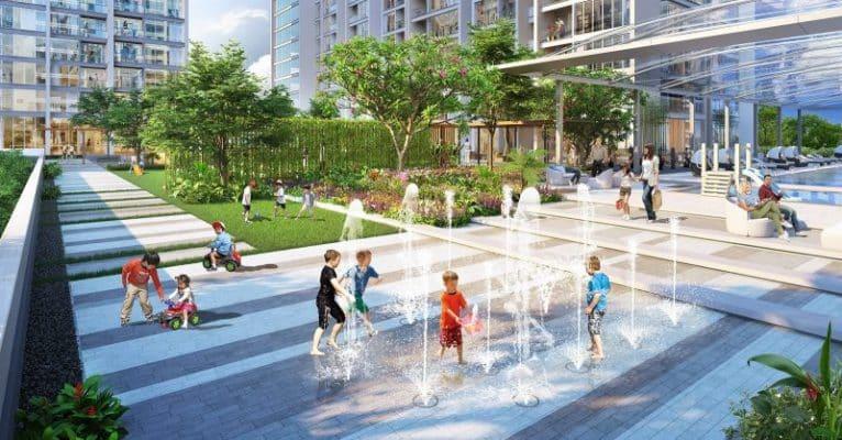 Quảng trường nước sapony dự án