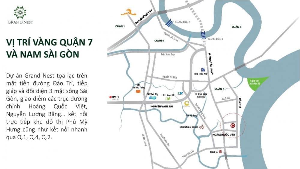 Vị trí Q7 Saigon Riverside Complex
