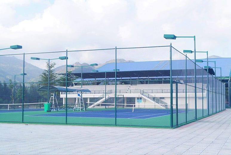Hệ thống 6 sân Tenis đã và đang đi vào hoạt động tại Golden Bay