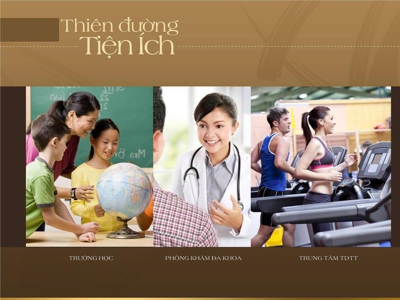 Trường học - phòng khám đa khoa - Trung Tâm thể dục thể thao