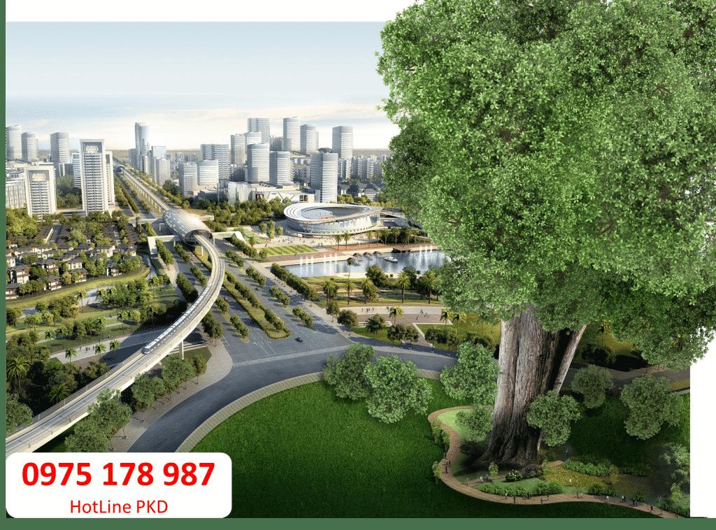 Swan Park- đô thị đẳng cấp xanh khác biệt cạnh dự án Phước Thiền.