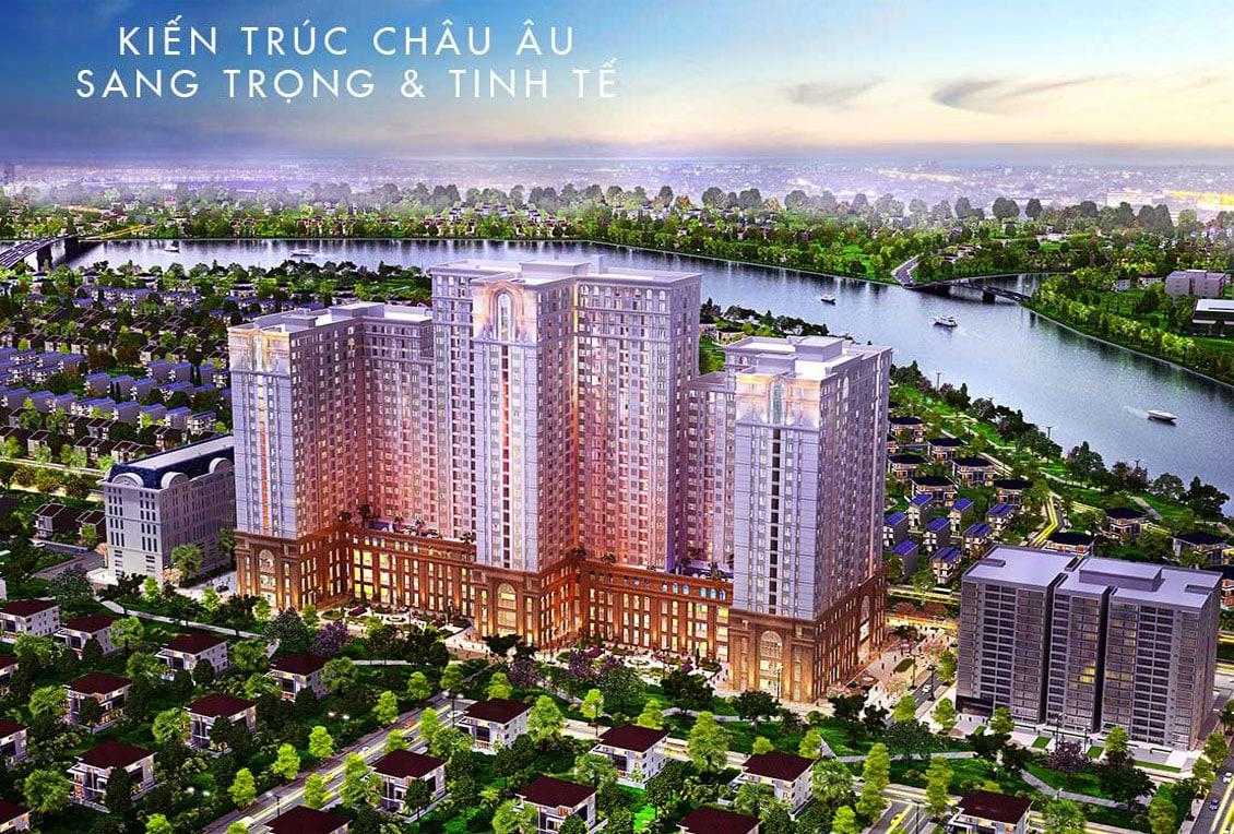 Phối cảnh dự án căn hộ Saigon Mia Trung Sơn