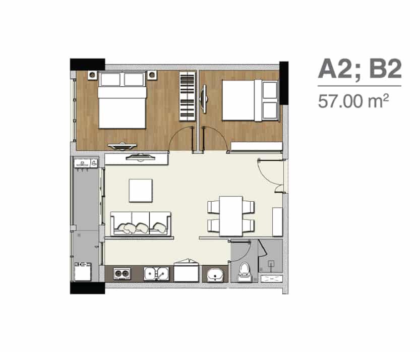 A2 B2