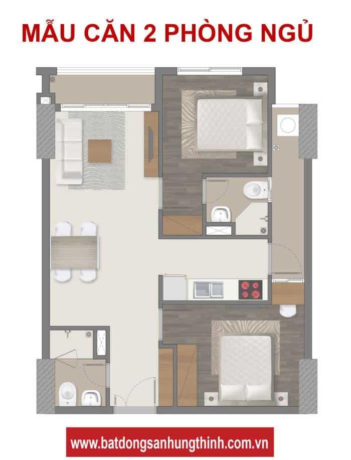 Chi tiết thiết kế căn hộ Richmond City