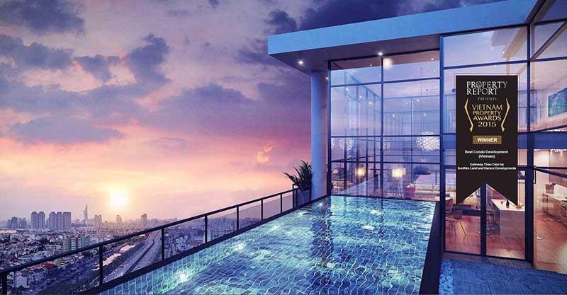Hồ bơi Sky View Gateway Thảo Điền