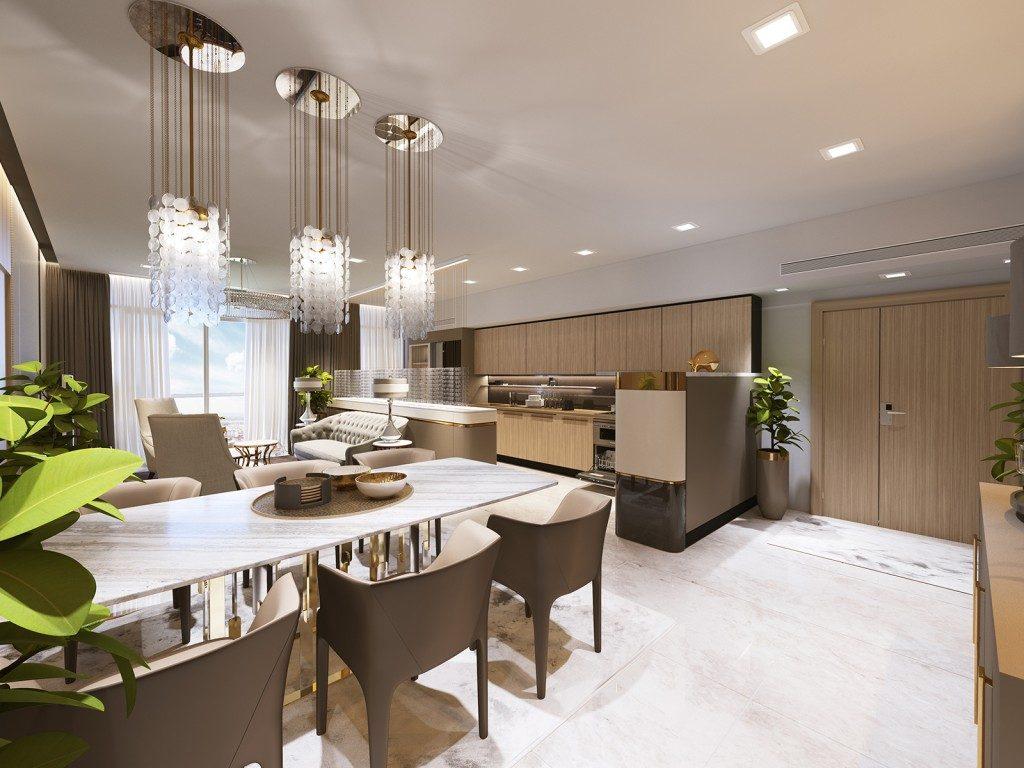 giá thuê landmark 81 căn hộ