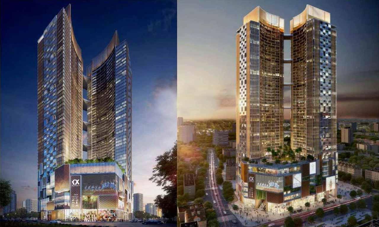 tổng quan dự án Alpha city