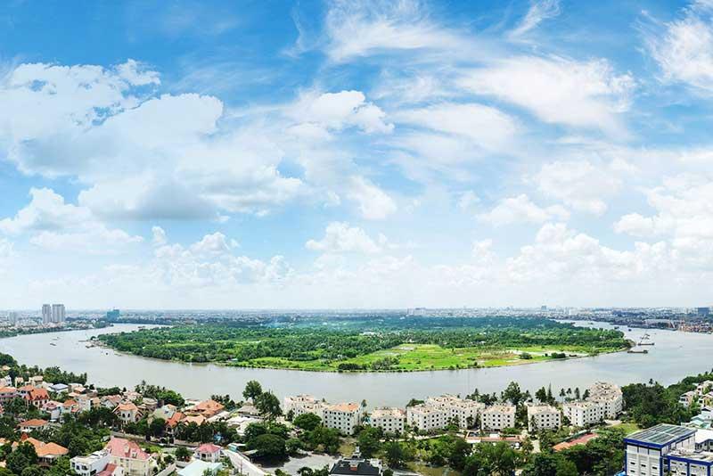 View nhìn từ Masteri Parkland