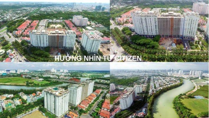 Hướng nhìn trực tiếp dự án Citizen Trung Sơn