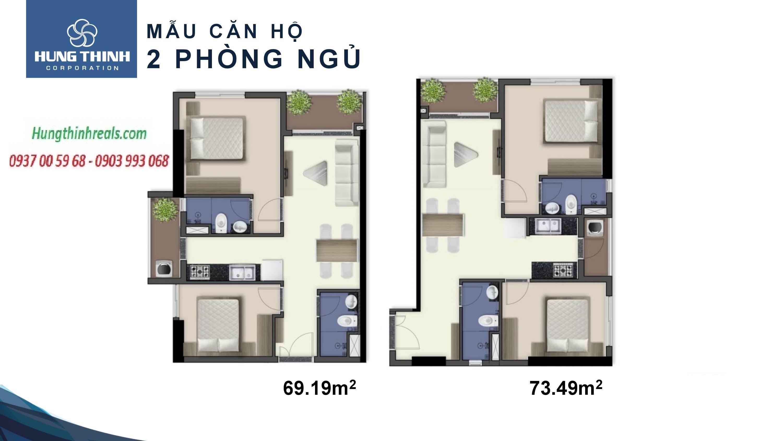 Căn 2PN đường Thi Sách - Vũng Tàu