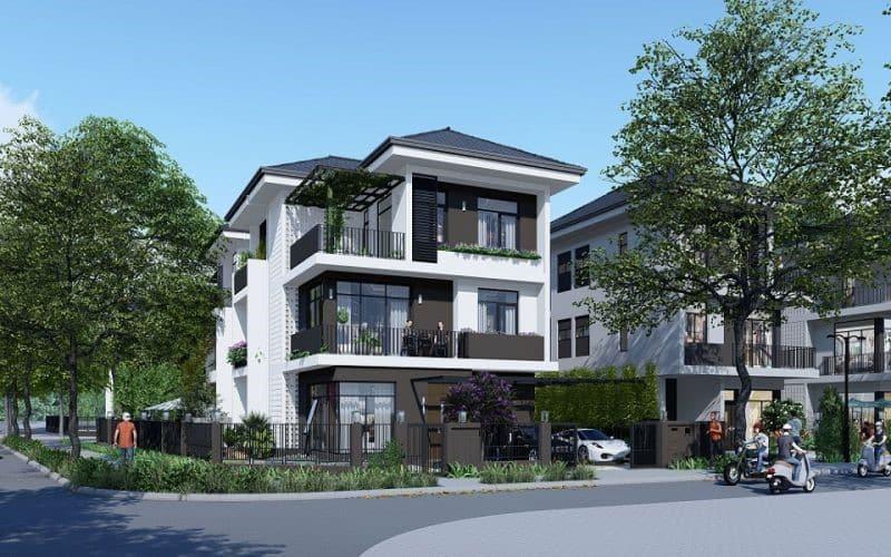 Phối cảnh của dự án biệt thự Hà Đô Charm Villas