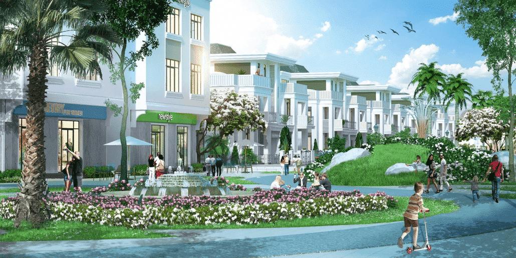 Biệt thự Vinhomes Riverside tọa lạc tại vị trí vàng của thủ đô Hà Nội