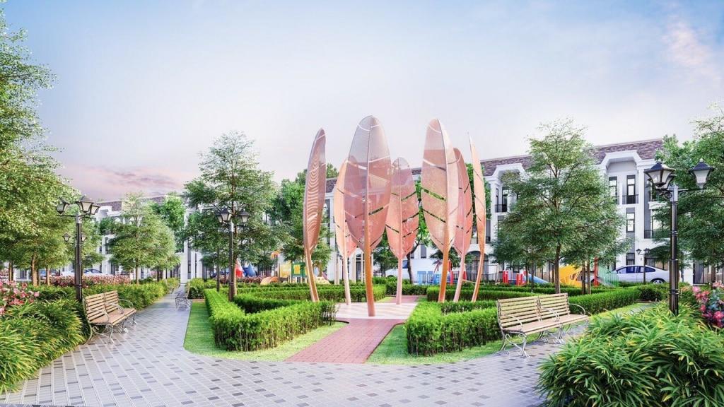 Dự án Lavilla Green City - Kiến trúc tiêu biểu tại Long An